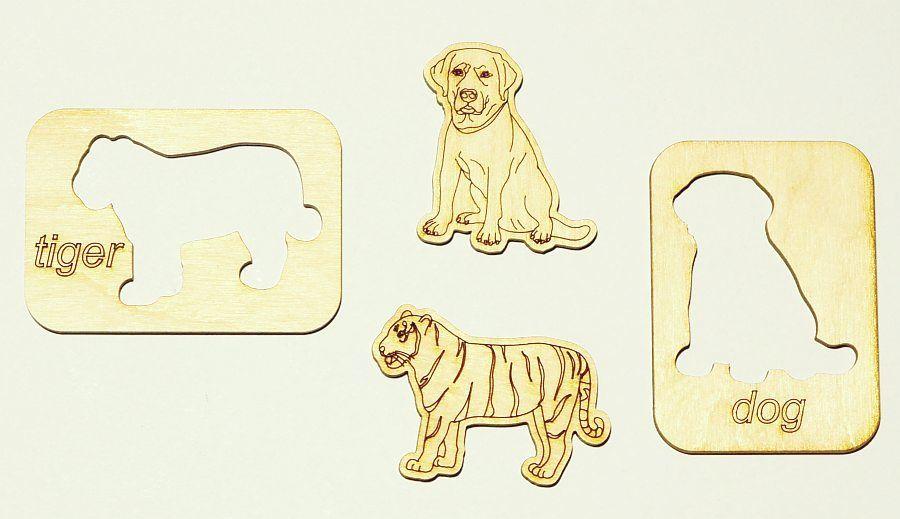 Animals puzzle szótár 4